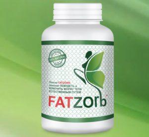 Фото фатзорб оригинал для снижения веса в пластиковой банке с официального сайта.