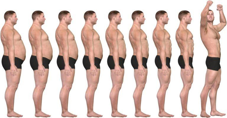 Фото отзыв похудевшего мужчины на жиросжигающих капсулах Фатзорб до и после приёма.